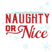Naughty Or Nice Logo